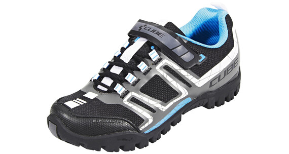 Cube All Mountain Schuhe Unisex black'n'white'n'grey'n'blue